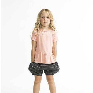 Joah Love Shirts & Tops -  !! NWT Joah Love Pink Ruffle Asymmetrical Top